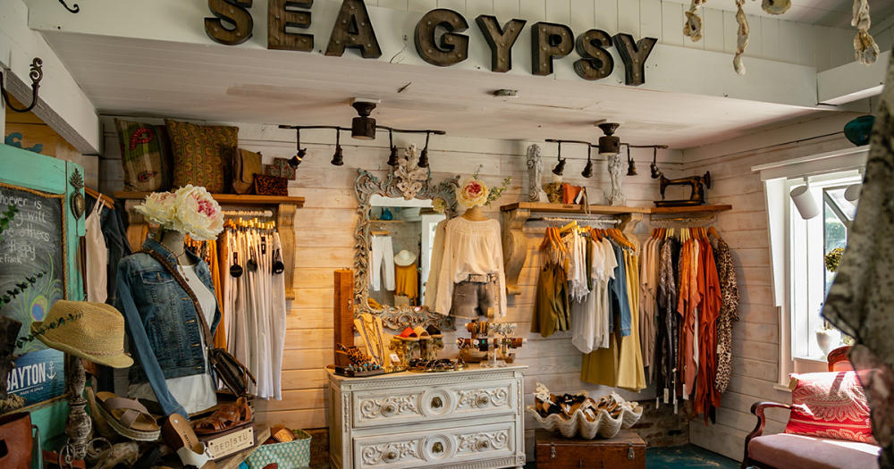 Sea Gypsy boutique in Pawleys Island