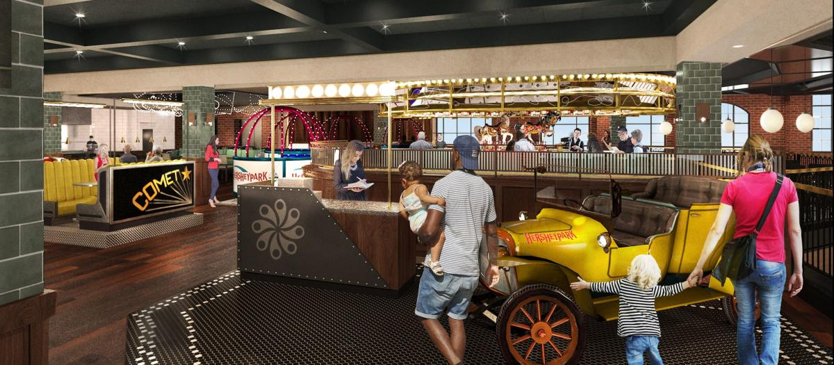 Chocolatier Restaurant in Chocolatetown - Rendering 2020