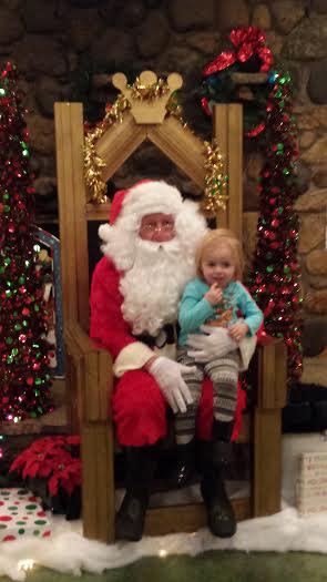 Santa at Winterland