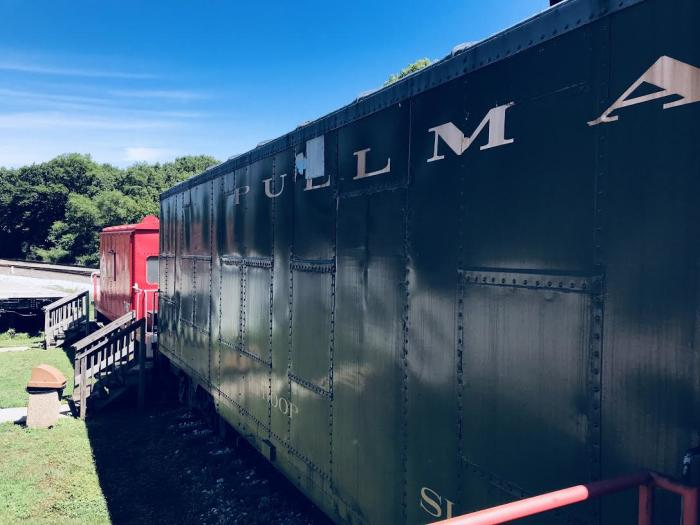 Griffith Historical Park train car