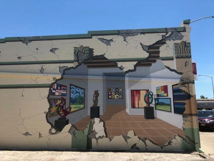 Baytown Art League Mural