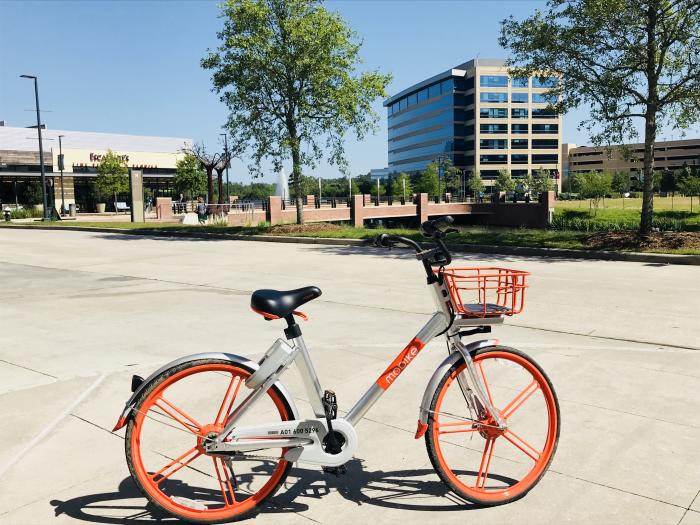 Mobike in The Woodlands