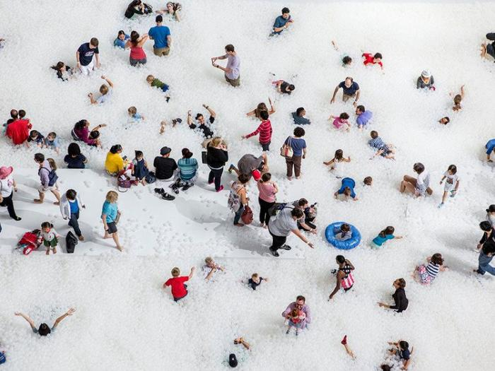 People The Beach at Navy Pier