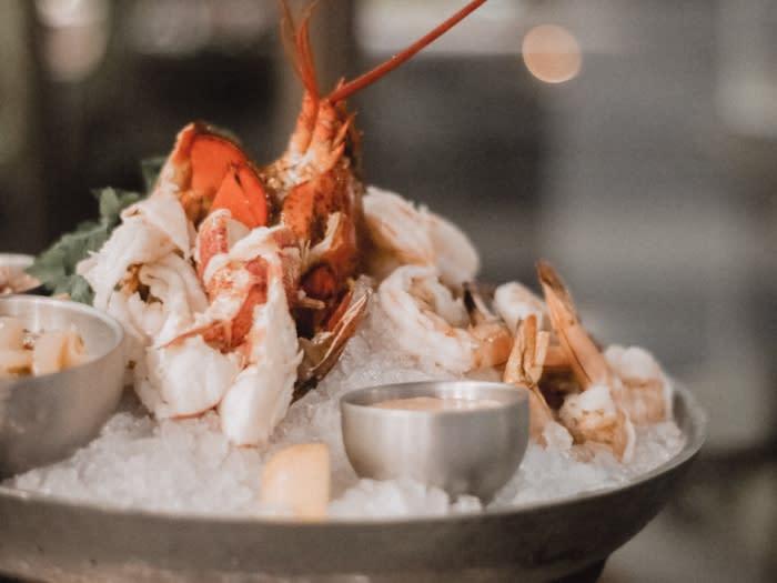 Davios Irvine Lobster Dish