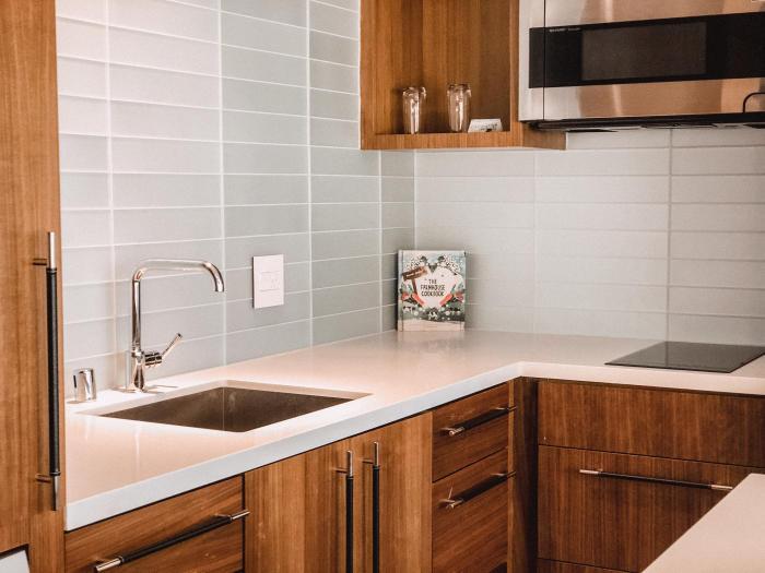Marriott Irvine Spectrum Corner Suite Kitchen