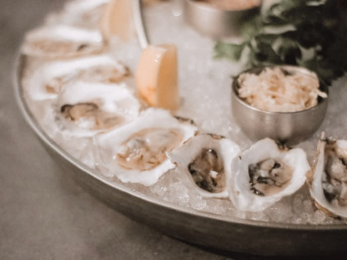 Davios Irvine Oysters on Half Shell