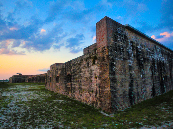 Fort Pickens sunset