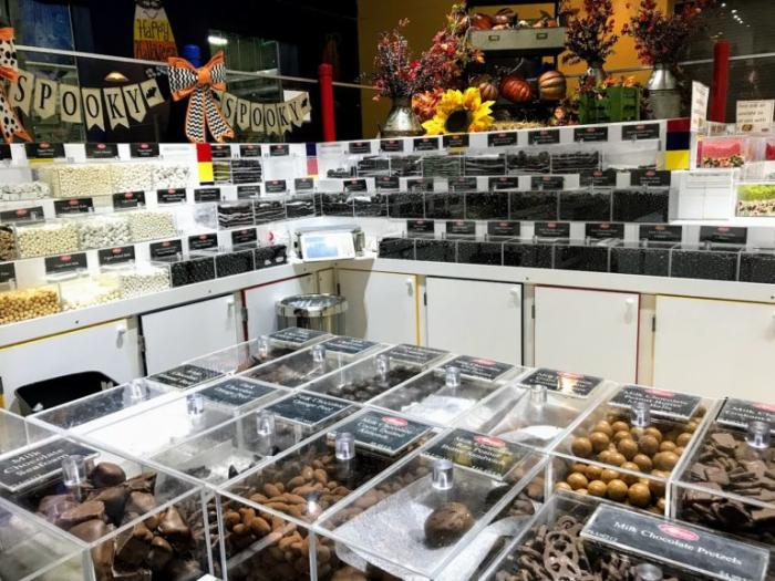 Just some of the candy at the Albanese Candy Factory in Merrillville, IN