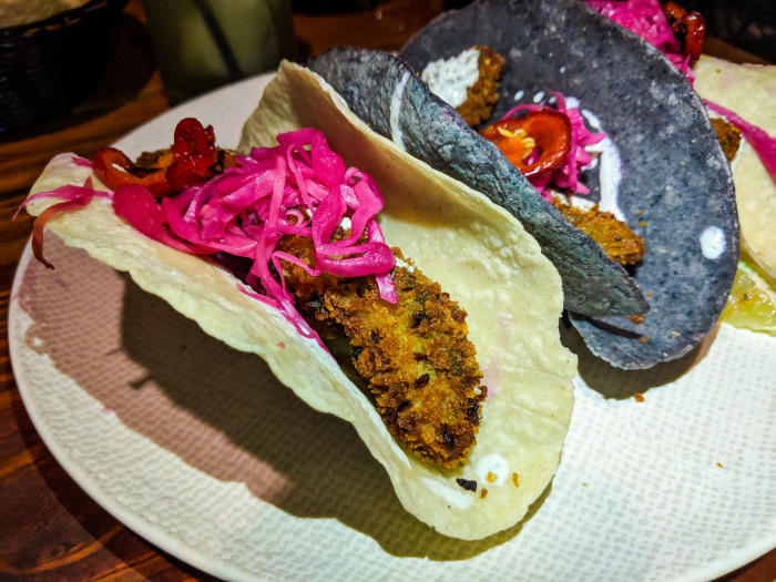 Tacos at Calle Onze in Houston