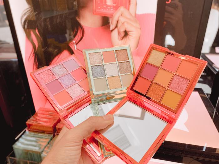 Sephora Irvine Spectrum Huda Beauty Palettes