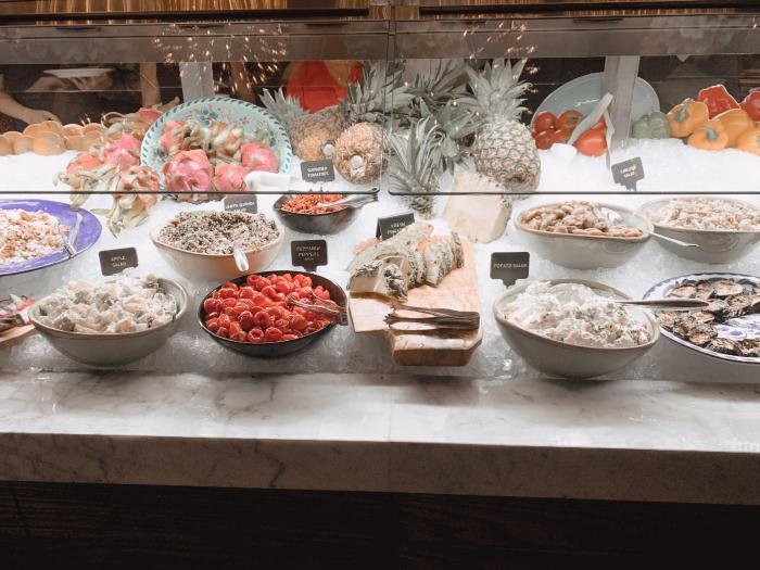 Fogo de Chao Market Table Sides