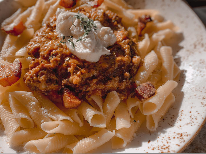 Eats Kitchen Hotel Irvine Bolognese