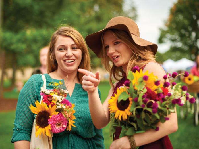 Flowers Capitol Farmers Market