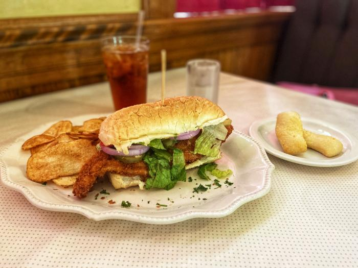 Jacksonville fish sandwich