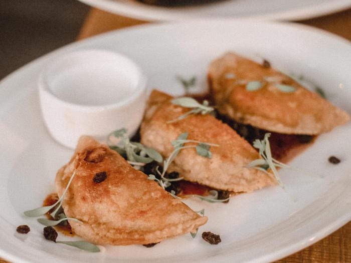 Empanadas at Cha Cha's Latin Kitchen in Irvine
