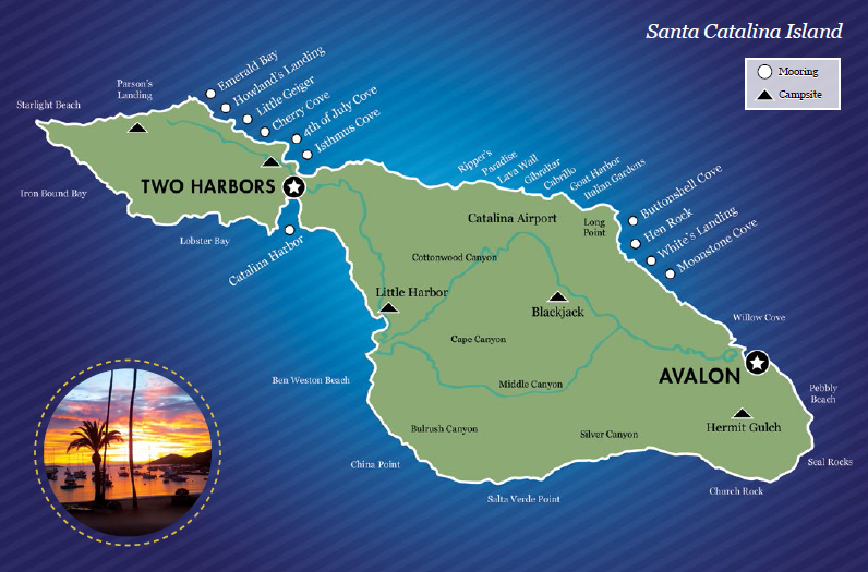 Two Harbors Mooring Sites | Visit Catalina Island on