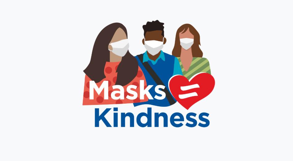 Masks-kindness campaign
