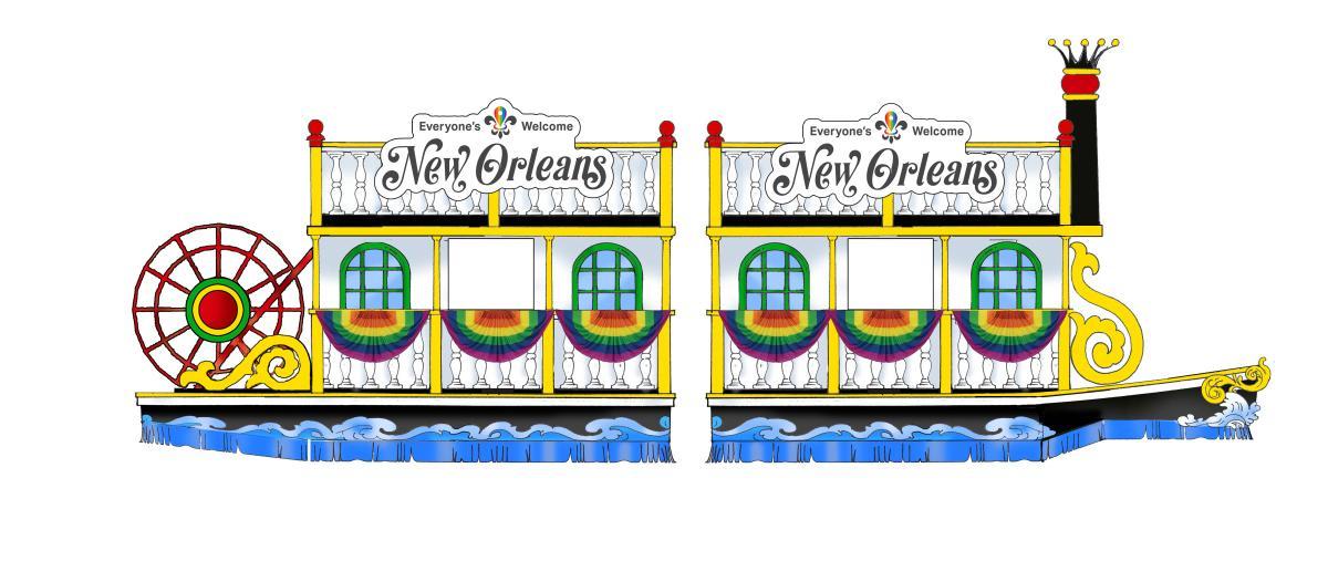 New Orleans' Riverboat Float for World Pride 2019
