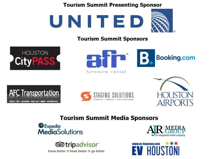 Tourism Summit Sponsors