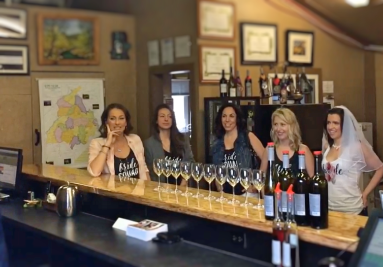 Bachelorette Party at Winery