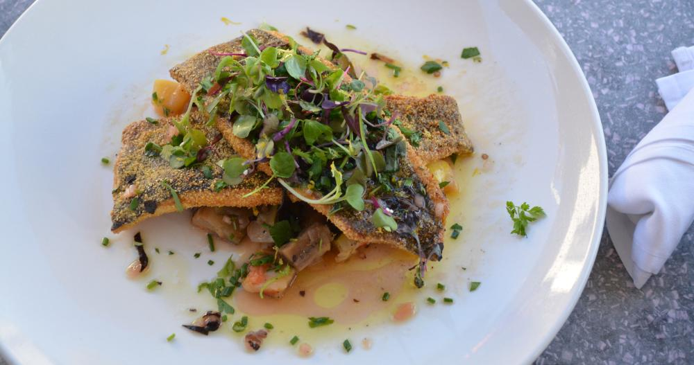 A delicious dinner served up at Aurum in downtown Steamboat Springs