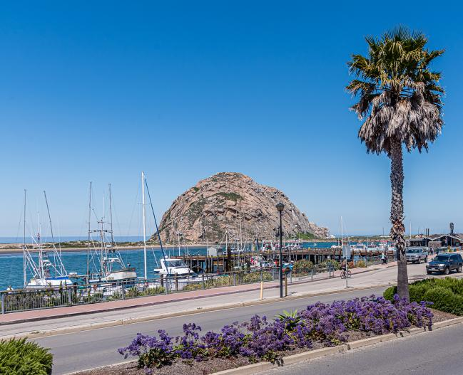 Morro Rock from Front Street Inn