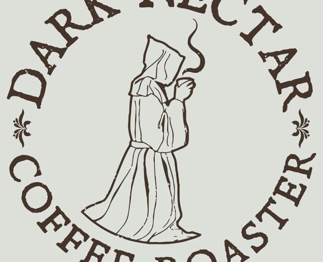 Dark Nectar Coffee Logo