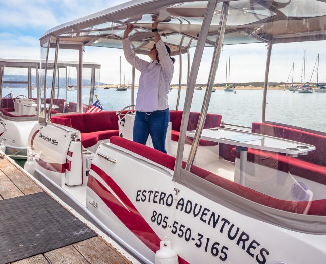 Estero Adventures Boat