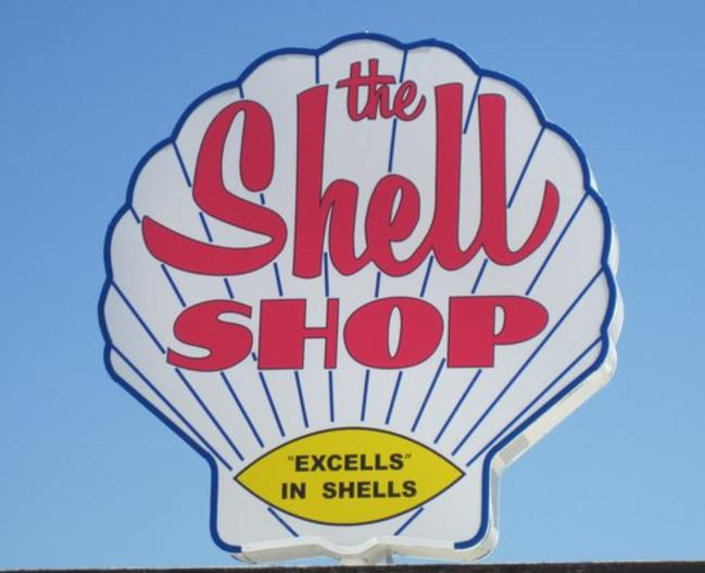 Shell Shop Sign