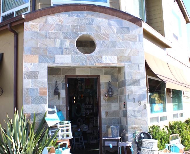 Rustic Diamond Storefront