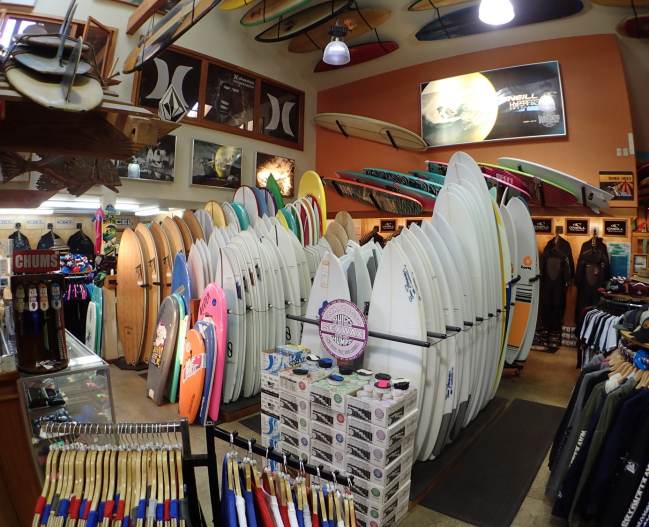Interior Sufboards