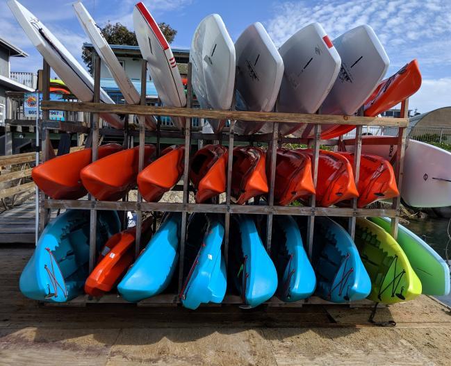 Paddlesport rentals
