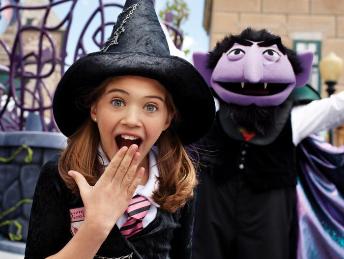 The Count's Halloween Spooktacular at Sesame Place