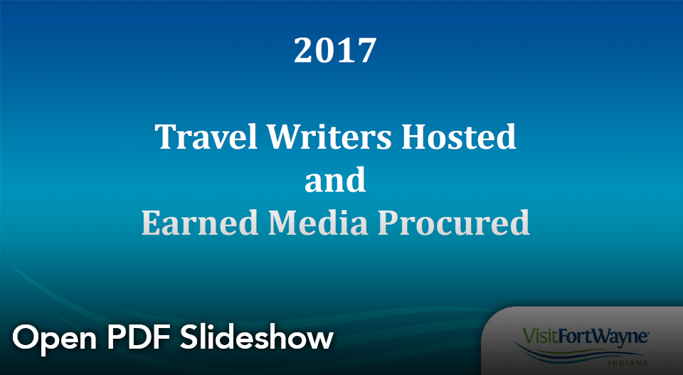 Summer 2017 Media Coverage slideshow PDF