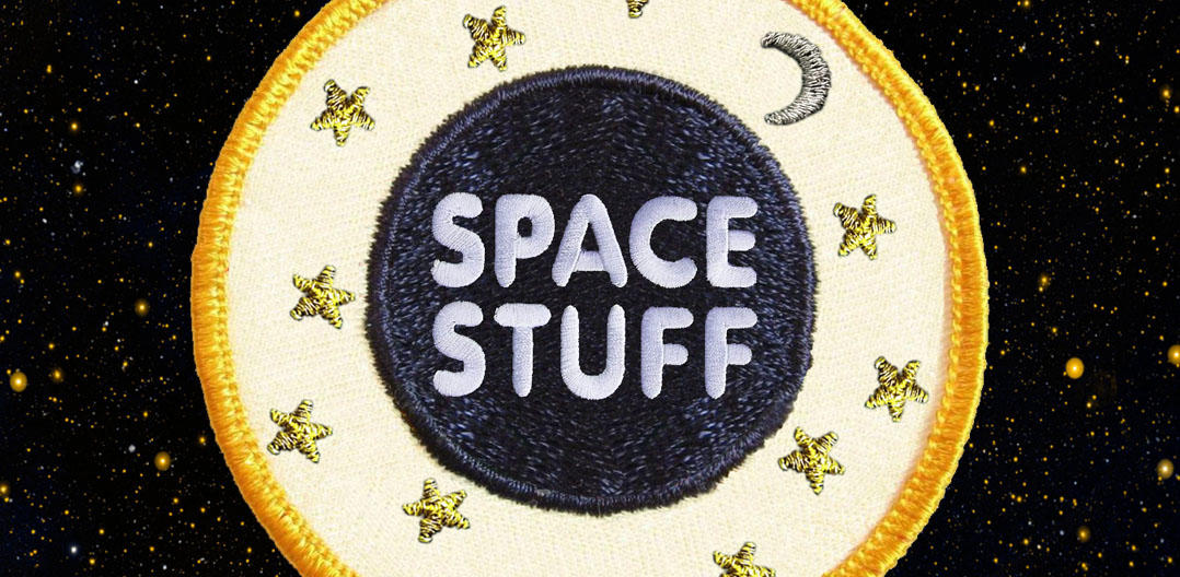 Moon Landing Space Patch