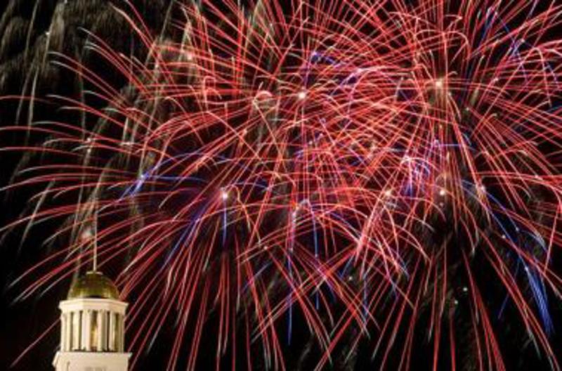 Old Capitol Fireworks