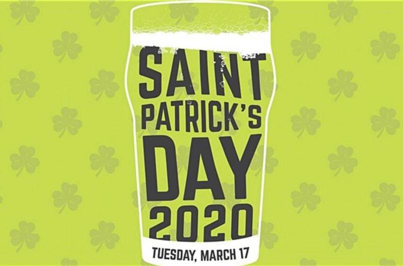 Craft Beer Market - St. Patrick's Day Event Poster