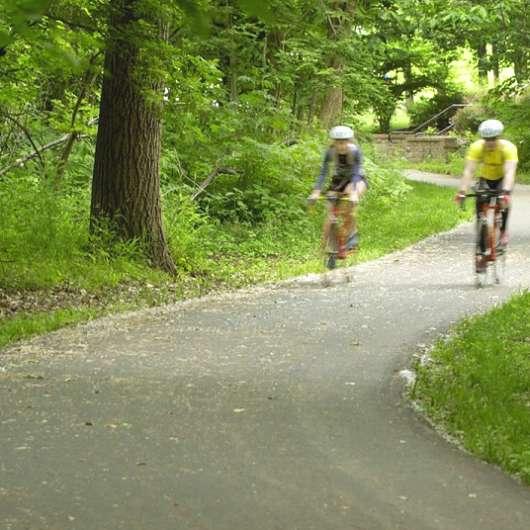The Indian Creek Bike and Hike Trail