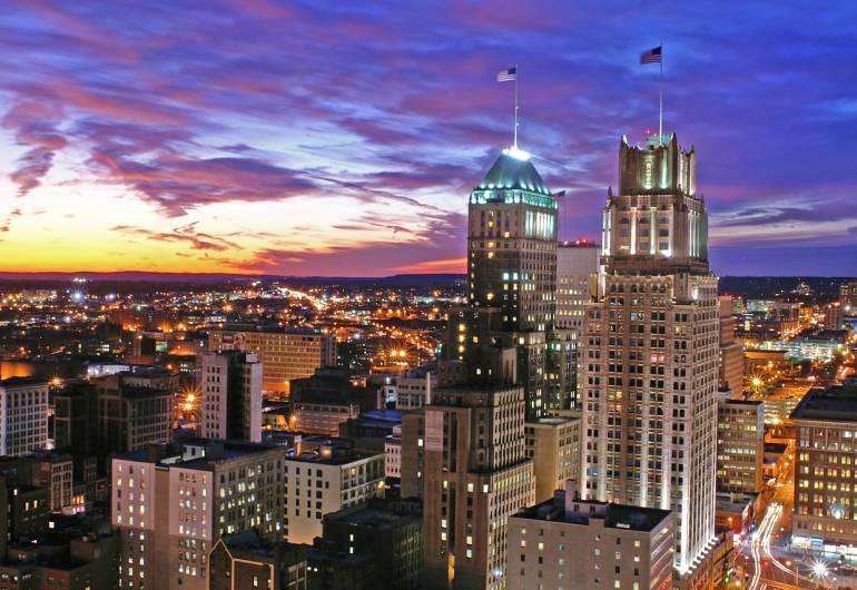 View from Newark Skyline - Harry Prott