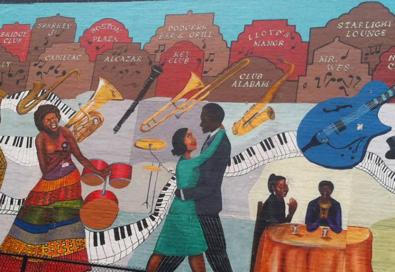 A TRIBUTE TO NEWARK JAZZ CLUBS