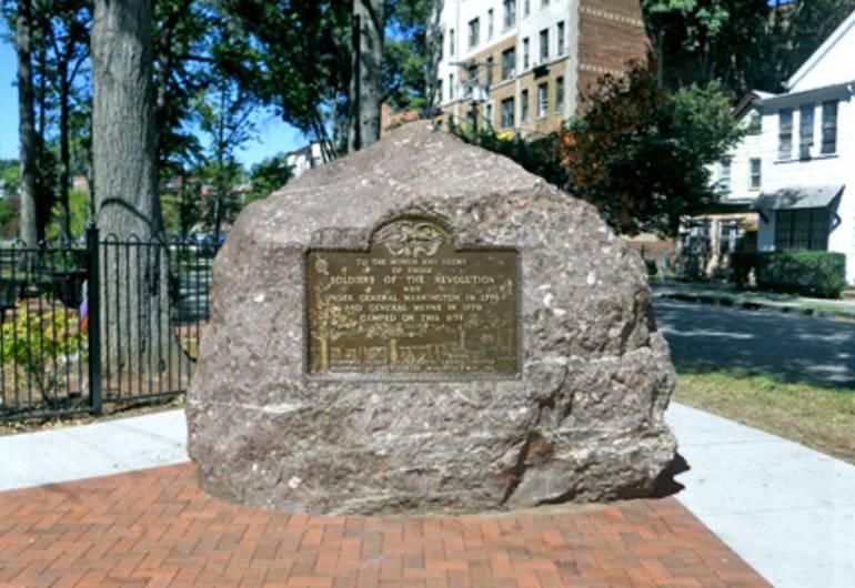 Boulder Monument at Phillips Park