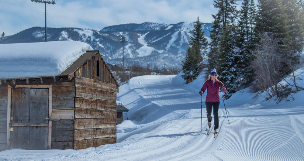 Nordic Skiing at Howelsen Hill in Steamboat Springs, Colorado