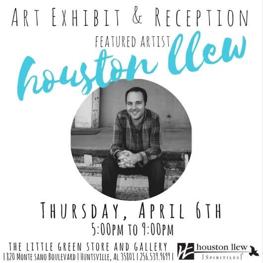 Houston Llew Exhibit Flier