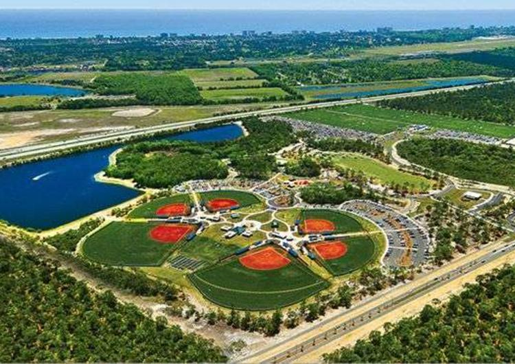 Sports Complex Overhead