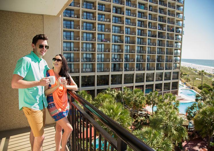Beach Cove Resort Balcony