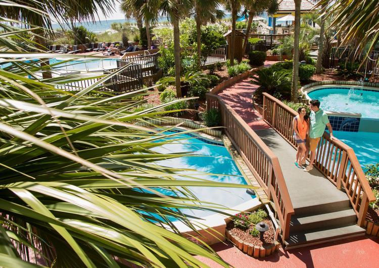 Beach Cove Resort Fountains