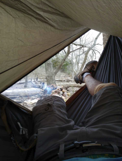 Johnny Vargas Kansas Hammocking with hammockkansas