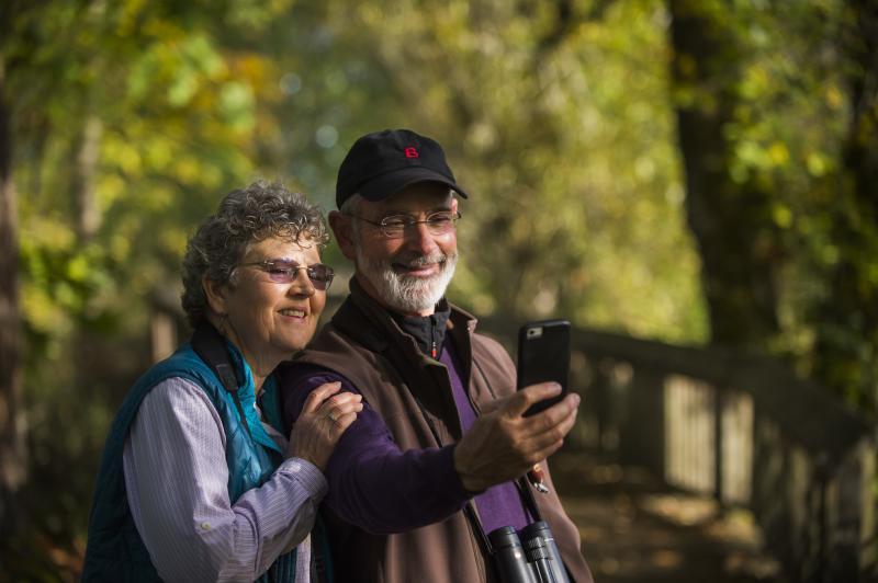 Billy Frank Jr. Nisqually National Wildlife Refuge Selfie