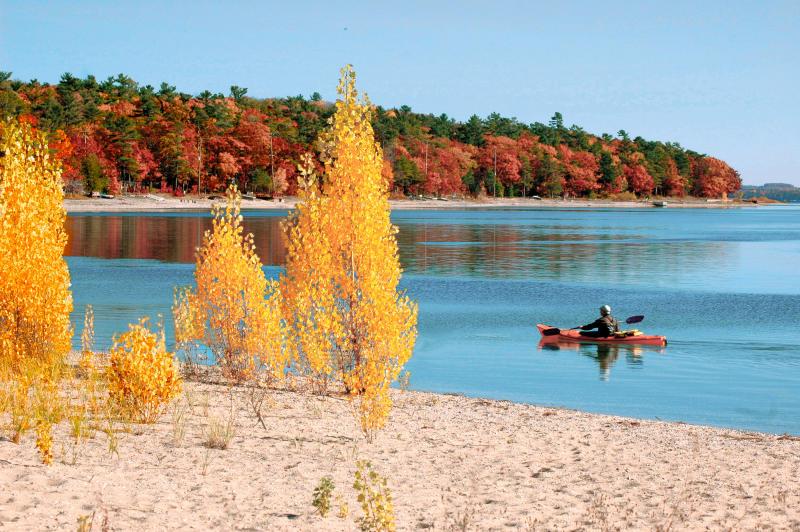 Fall Kayak