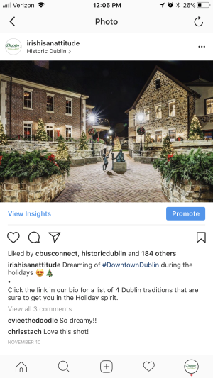 Holiday in BriHi Square Instagram